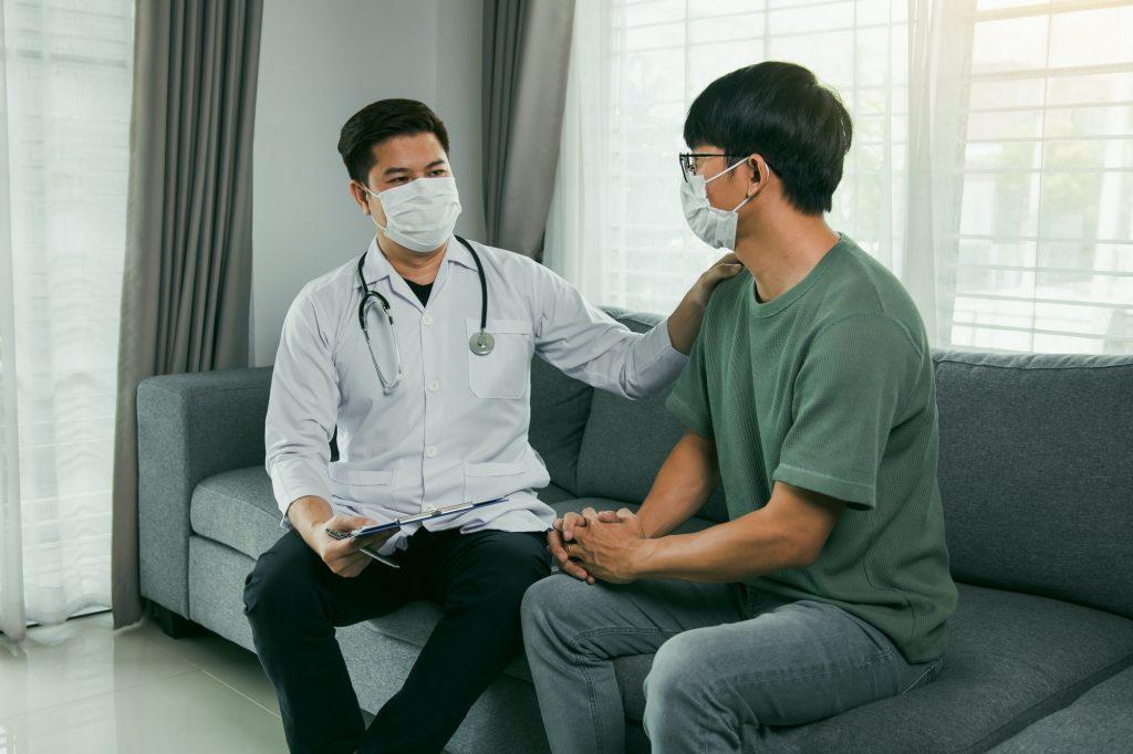 Doctor visit patients